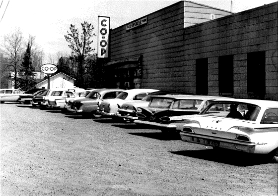 Store old cars